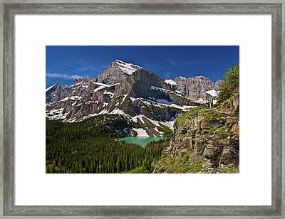 Glacier Backcountry 2 Framed Print