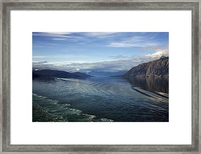 Glacier Bay 7 Framed Print