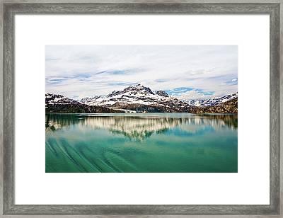 Glacier Bay In Alaska Framed Print