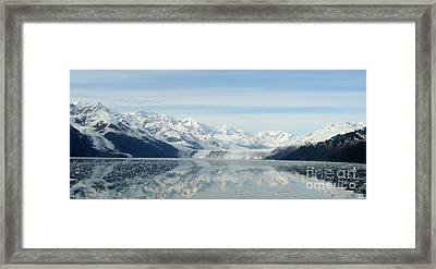 Glacier Bay Reflections Framed Print