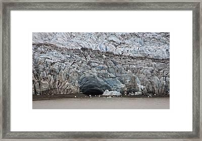 Glacier Cavern Framed Print by Robert Joseph