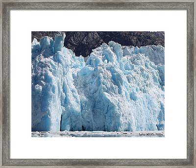Glacier Ice 18 Framed Print