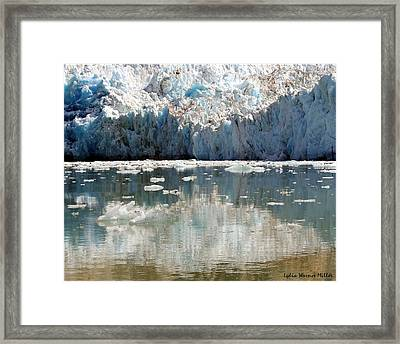 Glacier Ice 25 Framed Print