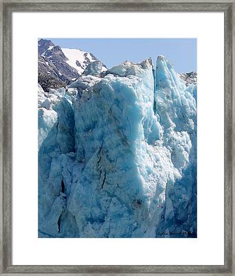Glacier Ice 55 Framed Print