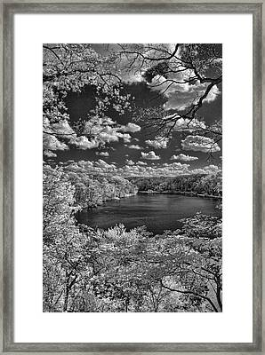 Glacier Lake Framed Print