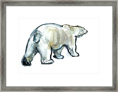 Glacier Mint Framed Print by Mark Adlington