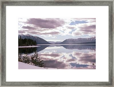 Glacier National Park 6 Framed Print