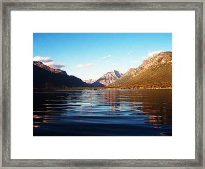 Glacier National Park 7 Framed Print