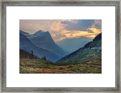 Glacier National Park Framed Print by Donald Schwartz