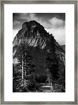 Framed Print featuring the photograph Glacier National Park Fifty Three by Kevin Blackburn
