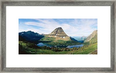 Glacier National Park,montana Framed Print by Panoramic Images