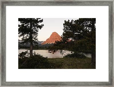 Glacier Nat'l Park-montana Framed Print by Keith Lovejoy