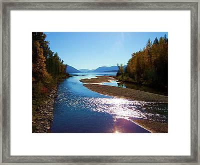 Glacier Park 9 Framed Print