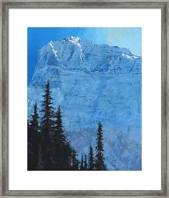 Glacier Peak II Framed Print by Robert Bissett