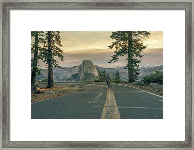 Glacier Point Adventure Framed Print