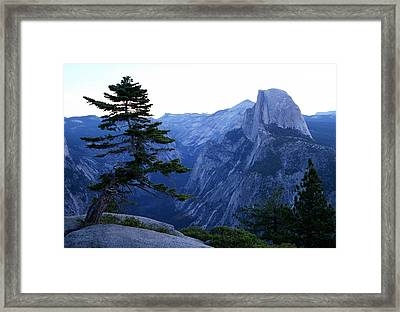 Glacier Point Framed Print