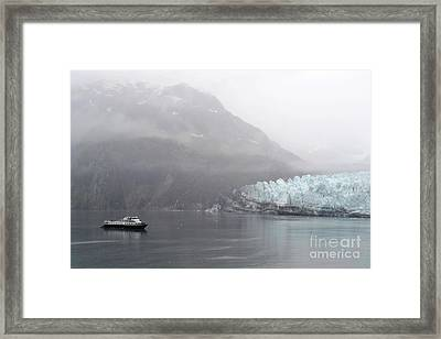 Glacier Ride Framed Print by Zawhaus Photography