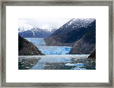 Framed Print featuring the photograph Glacier by Shirin Shahram Badie