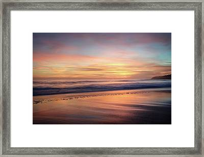Framed Print featuring the photograph Glad We Stayed Longer by Quality HDR Photography