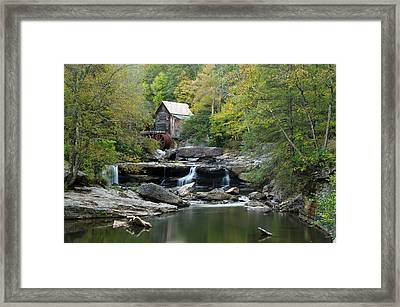 Framed Print featuring the photograph Glade Creek Grist Mill by Ann Bridges