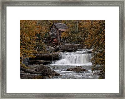 Glade Creek Mill 2011 Framed Print by Wade Aiken