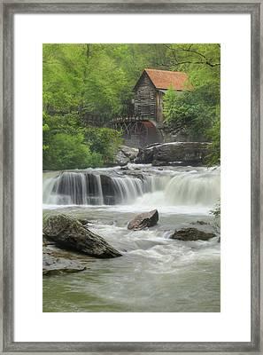 Glade Creek Portrait Framed Print by Lori Deiter