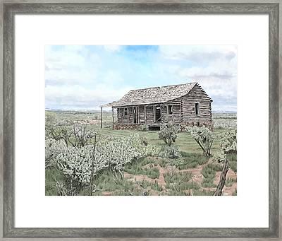 Glade Park Spring Framed Print