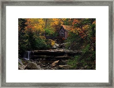 Glades Creek Grist Mill West Virginia Framed Print