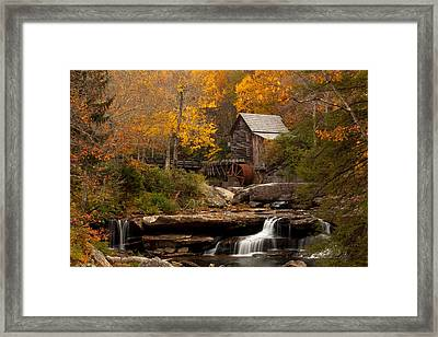 Glades Creek Mill Framed Print by Doug McPherson