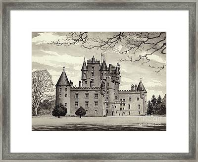 Glamis Castle Framed Print by Pat Nicolle