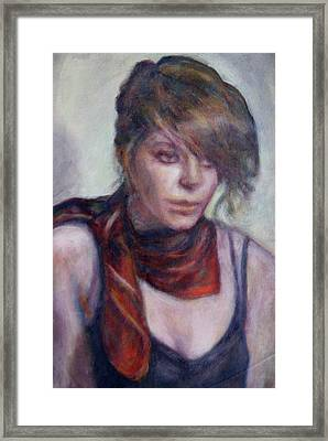 Modern Glamour  - Sale On Original Painting Framed Print by Quin Sweetman
