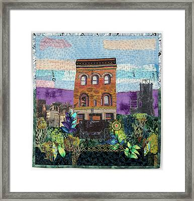 Glance At The Past II Framed Print