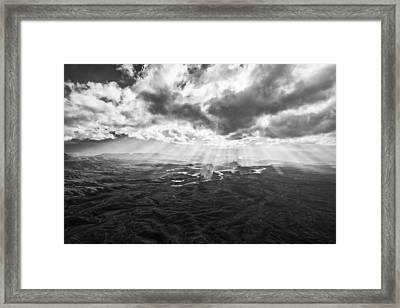 Glance From The Heavens Framed Print