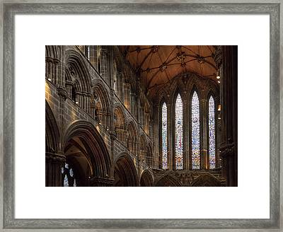 Glasglow Cathedral Framed Print