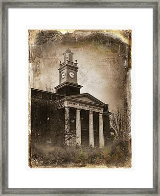 Glasgow Ky Courthouse Framed Print