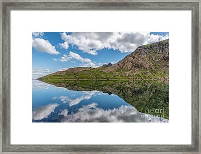 Glaslyn Lake Framed Print