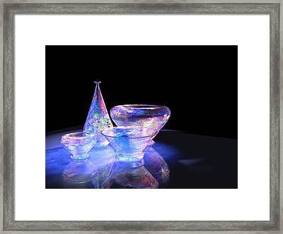 Glass 1 Framed Print