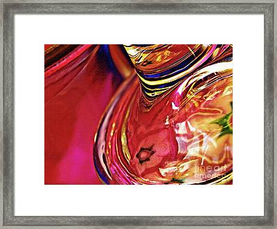 Glass Abstract 634 Framed Print