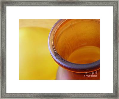 Glass Abstract 718 Framed Print