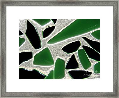 Glass Abstract 791 Framed Print