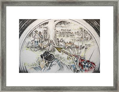 Glass Aftermath Framed Print