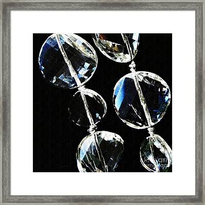 Glass Beads Framed Print
