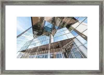 Glass Building Framed Print by Svetlana Sewell