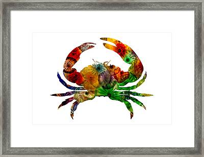 Glass Crab Framed Print