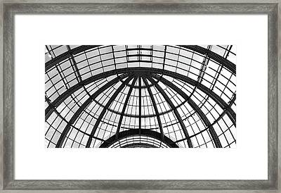 Framed Print featuring the photograph Glass Dome by Corinne Rhode
