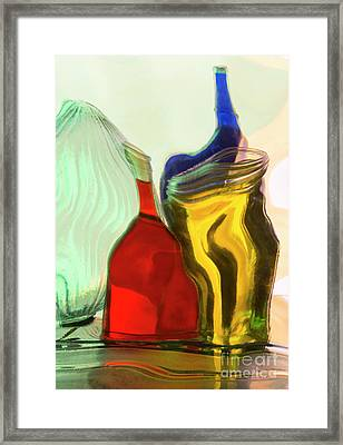Glass Framed Print by Elena Nosyreva