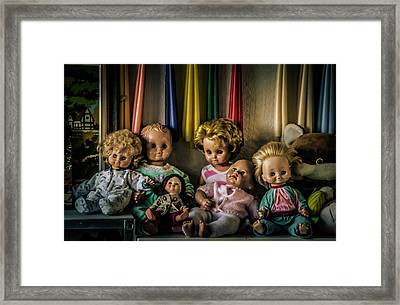 Framed Print featuring the photograph Glassy Eyed Menagerie by Odd Jeppesen