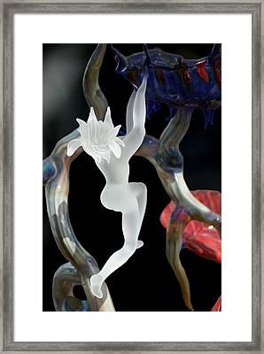 Glass Fairy Framed Print