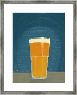 Glass Full Of.. Framed Print by Keshava Shukla