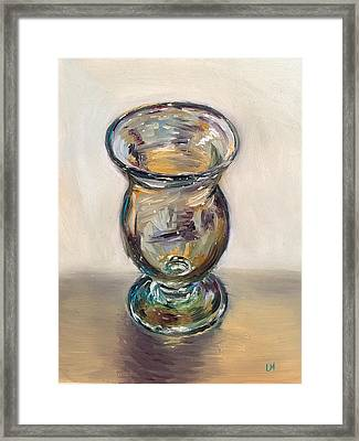 Glass Goblet Framed Print